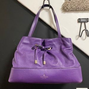 Kate Spade purple purse 💜